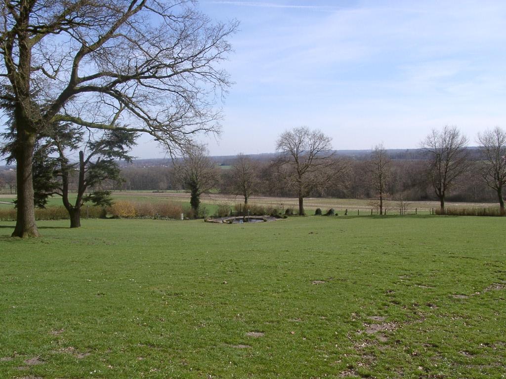 Ausblick von der Villa Jordaan / Haus Rothenberge
