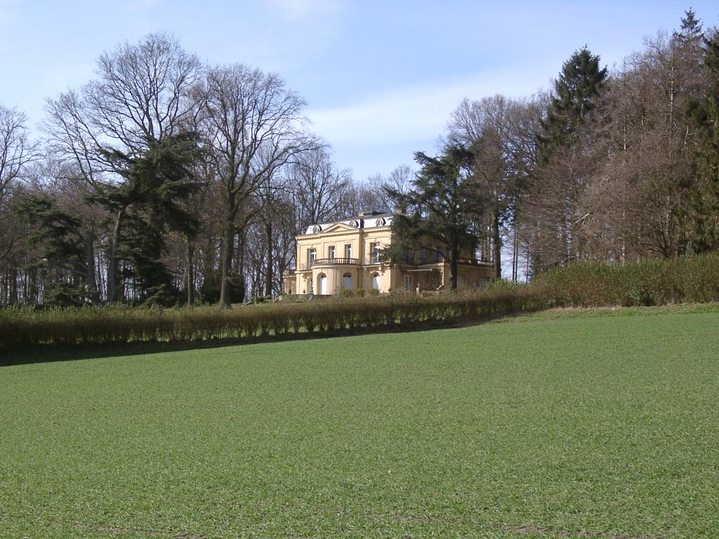 Villa Jordaan aus Südost-Richtung