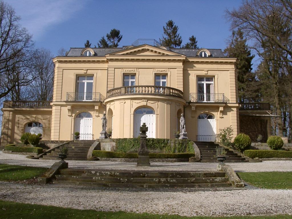 Villa Jordaan in der Frontansicht