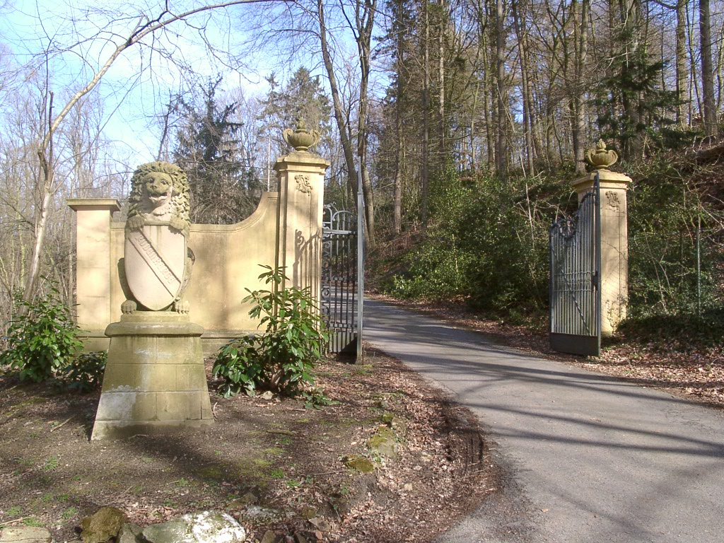 Torbogen der Villa Jordaan / Haus Rothenberge